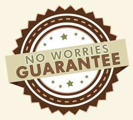no worries guarantee