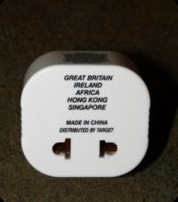 Plug Adaptor (front)